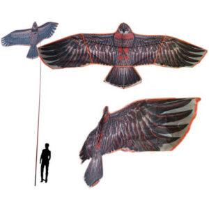 Odstraszacze w formie latawców mają imitować naturalnego drapieżnika, których mewy instynktownie się boją